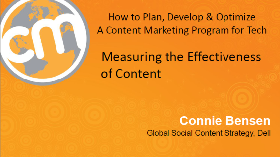Measuring content effectiveness